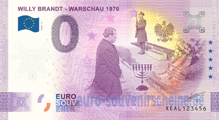 XEAL-2020-3 WILLY BRANDT - WARSCHAU 1970
