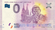 POPE JOHN PAUL II 100th BIRTHDAY