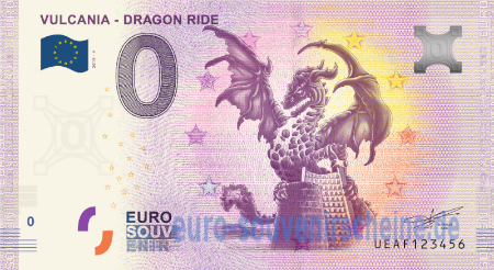 UEAF-2019-4 VULCANIA - DRAGON RIDE