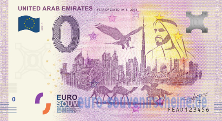 FEAD-2019-1 UNITED ARAB EMIRATES YEAR OF ZAYED 1918 - 2018